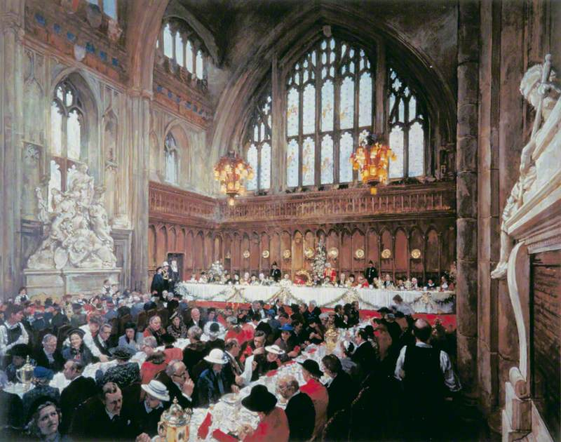Guildhall Luncheon to Celebrate the 800th Anniversary of the Mayoralty, London