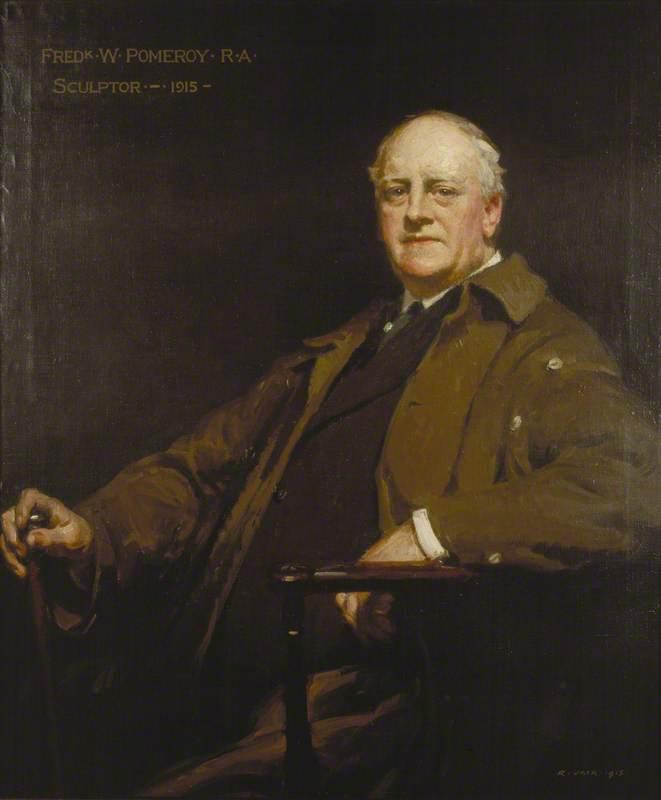 Frederick W. Pomeroy (1856–1924), Sculptor