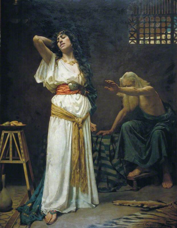 The Wife of Jeroboam and the Blind Prophet