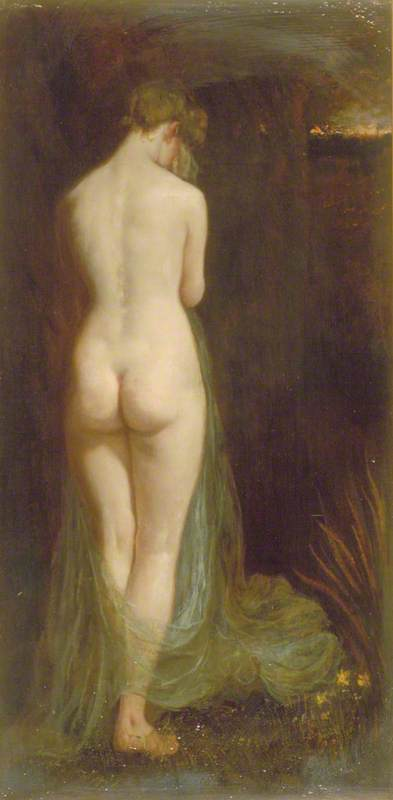 Study of a Nude Woman