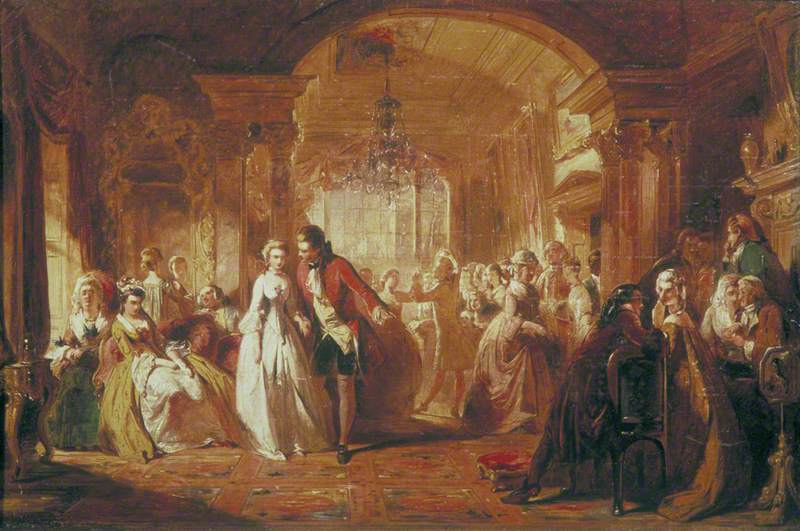 A Ballroom in the Year 1760