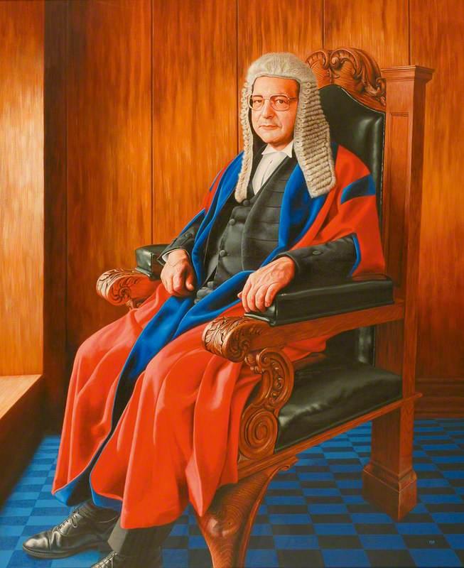 His Honour Judge Michael Hyam (1938–2004), Recorder of London