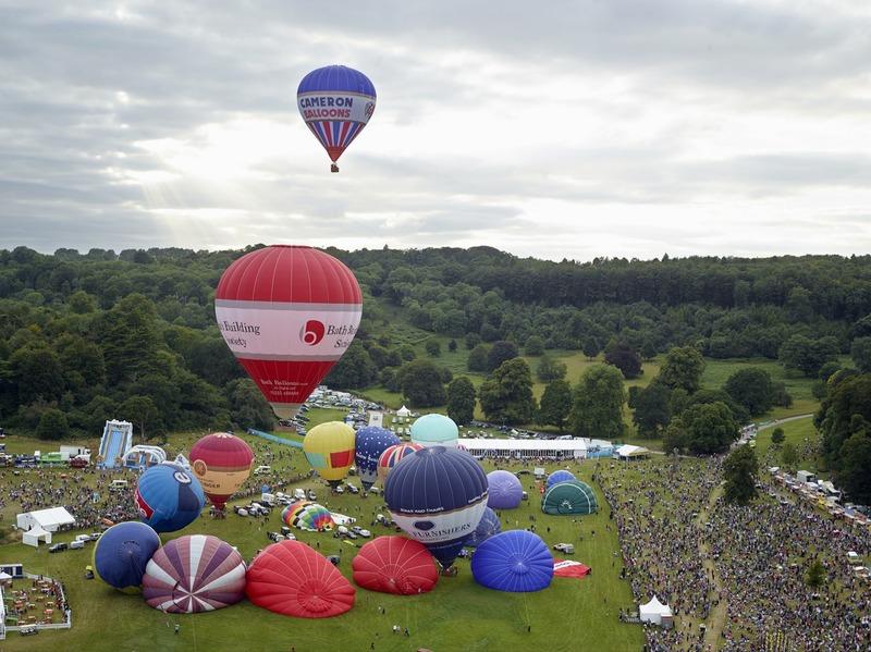 Bristol International Balloon Fiesta, Ashton Court, Bristol, 11 August 2013