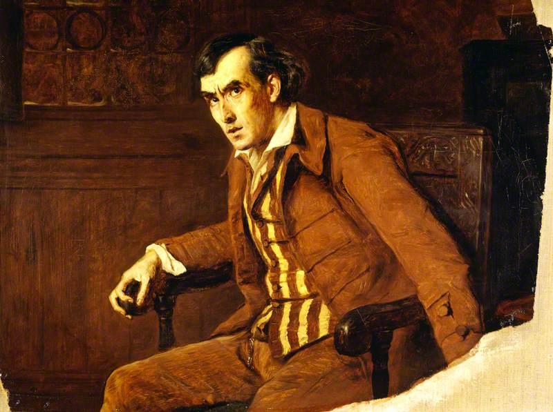 Sir Henry Irving (1838–1905), as Mathias in 'The Bells'