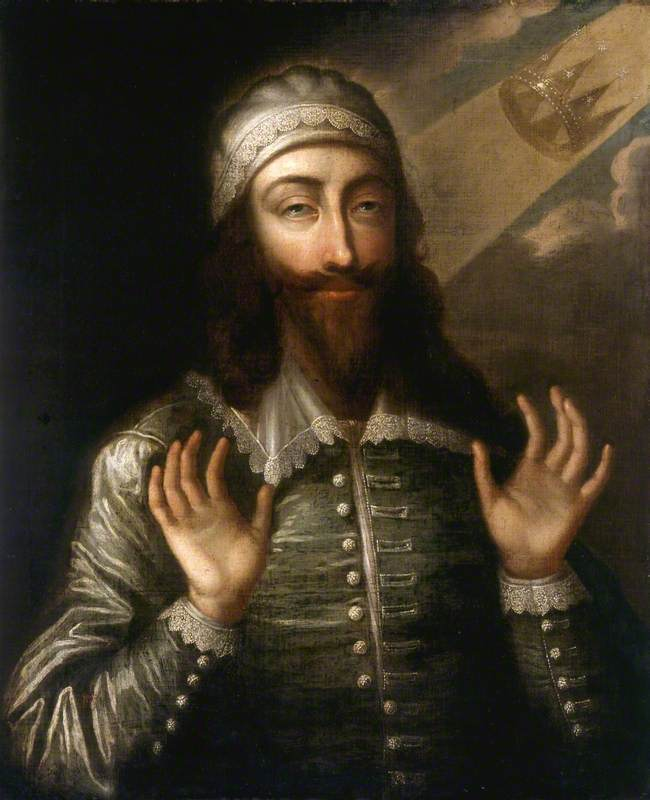 Charles I (1600–1649), as a Martyr King