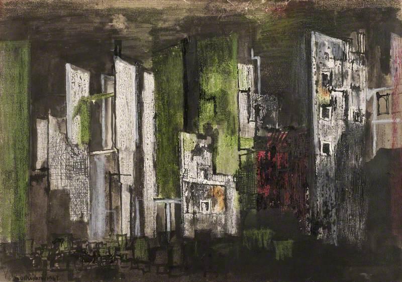 Devastation, 1941, City, Panorama of Ruin