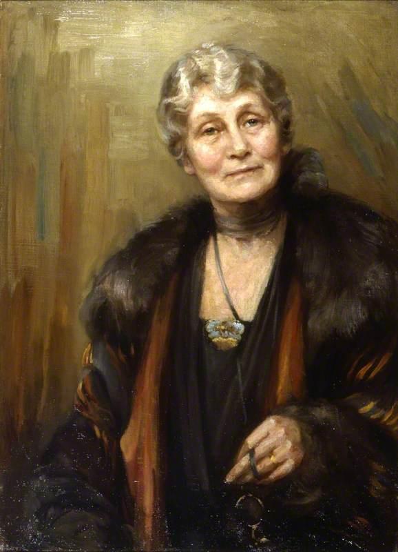 Mrs Richard Marsden Pankhurst (1858–1928), née Emmeline Goulden
