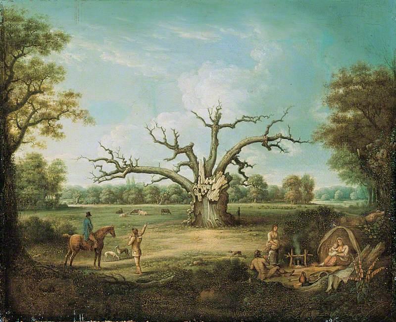 The Fairlop Oak, Hainault Forest, Essex