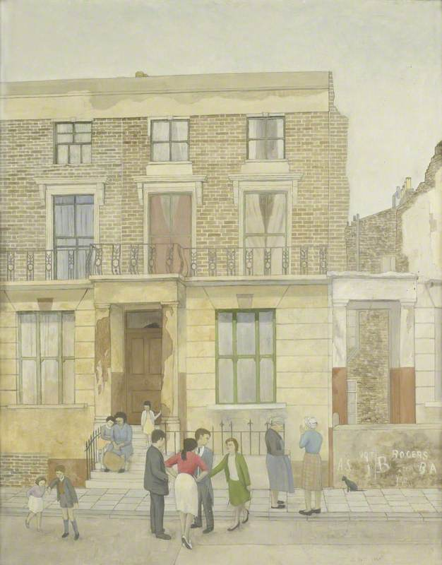 A Scene in Southam Street, North Kensington, London