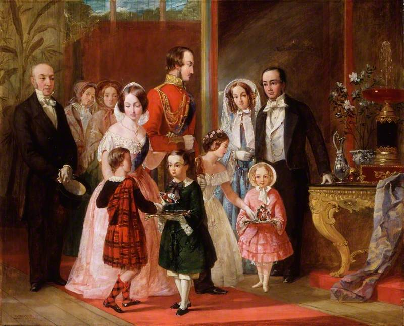 Thomas Younghusband and His Family Meet Queen Victoria and Her Family at Crystal Palace