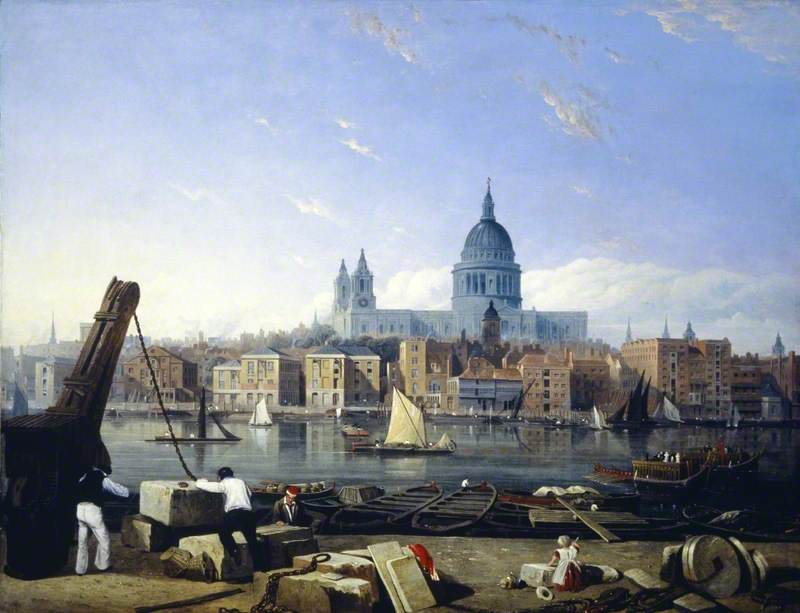The City from Bankside, London
