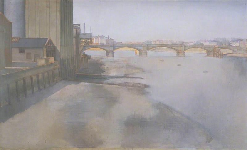 Battersea Bridge from the Albert Bridge, London