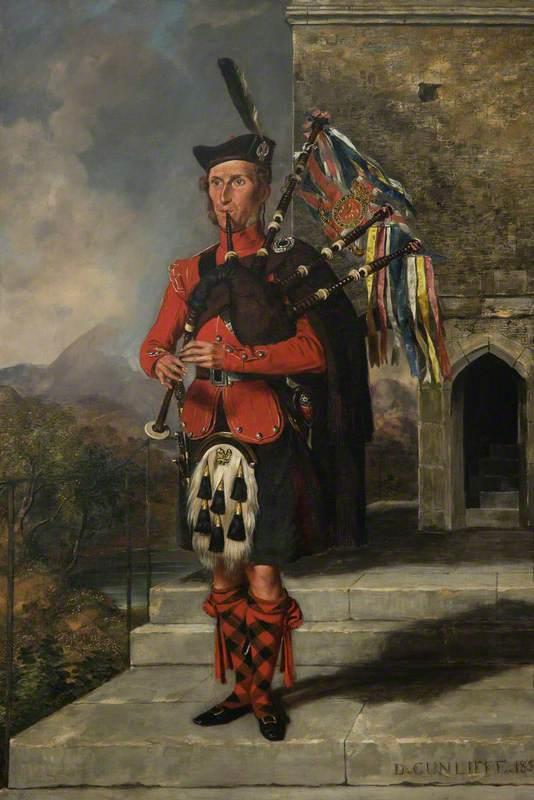 Pipe Major James Wilson