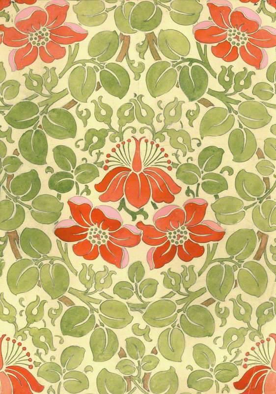 Floral Design For Print