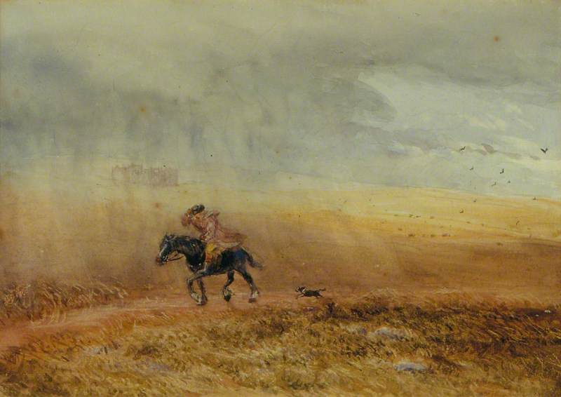 Rain – Man on Horseback