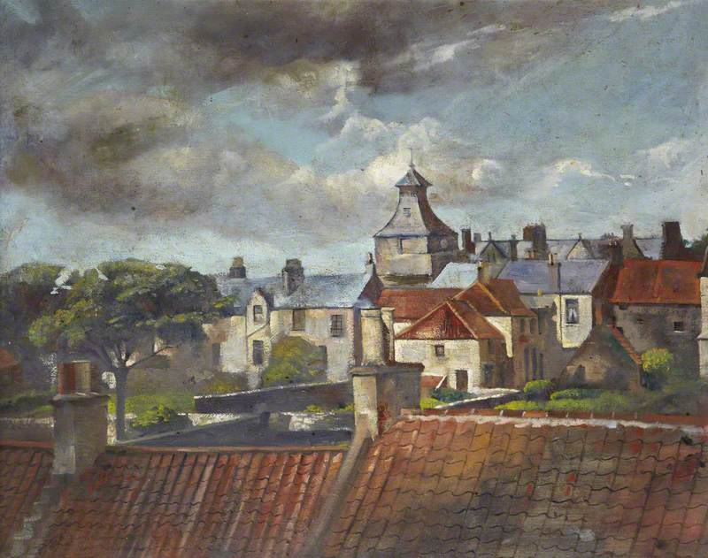 Rooftops of Marketgate, Crail