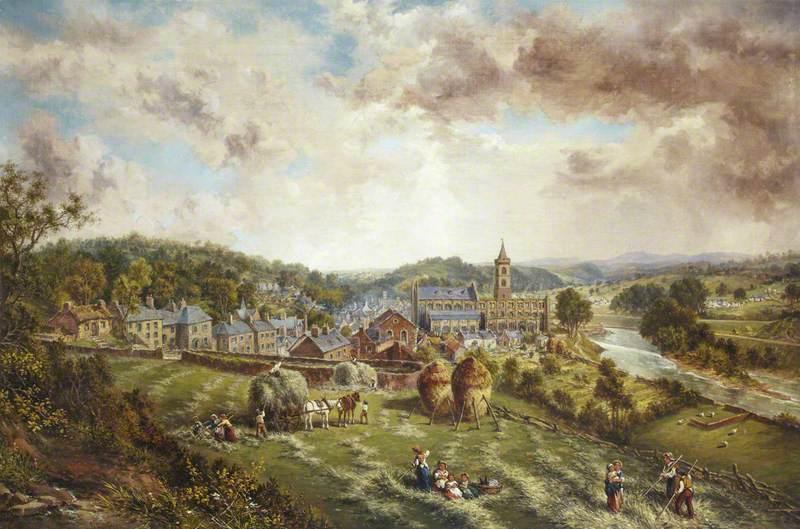 Harvest Scene, Dunblane