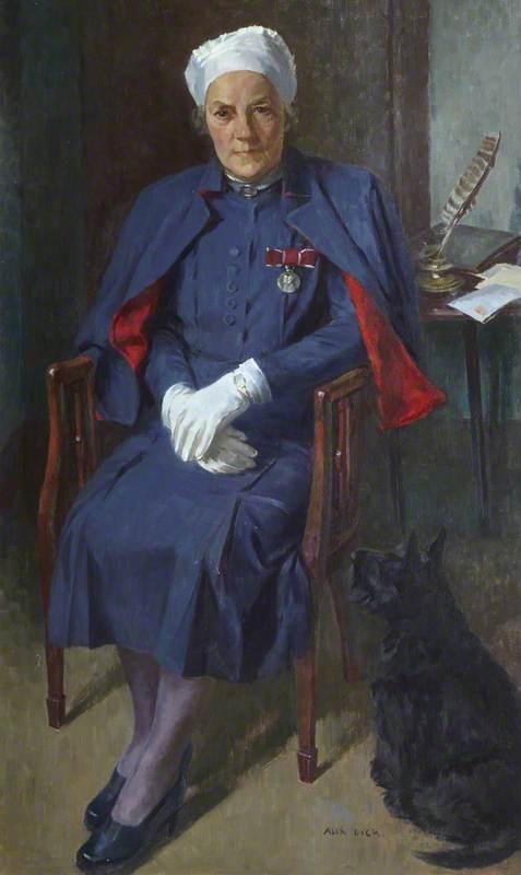 Matron Anna C. Dick