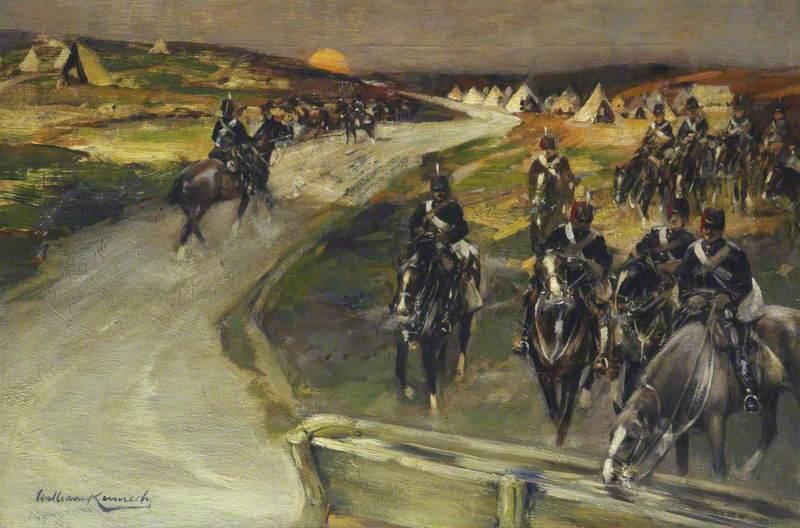 Hussars Returning to Camp