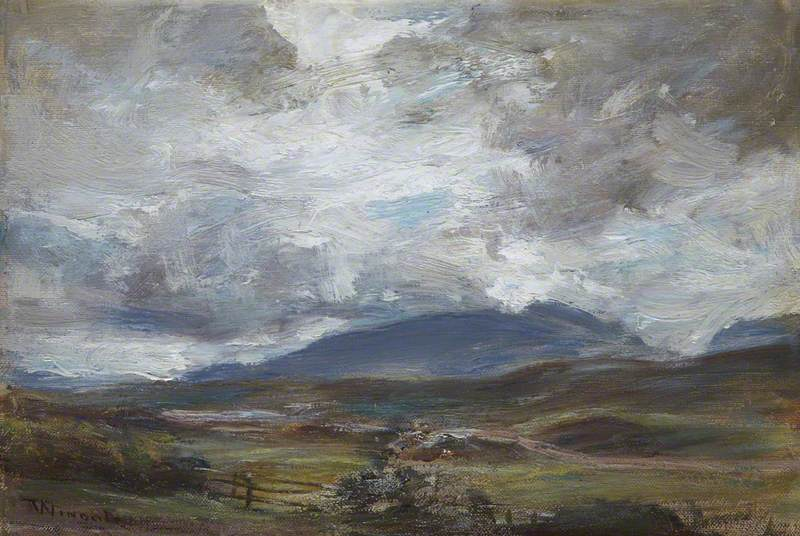 A Grey Day on the Hills
