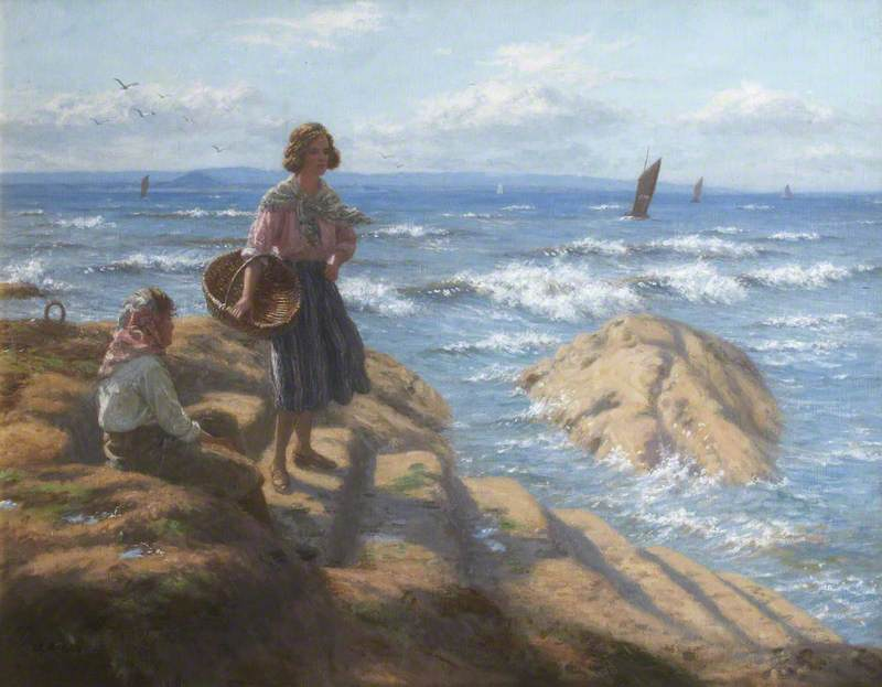 Untitled – Women at Pittenweem Harbour