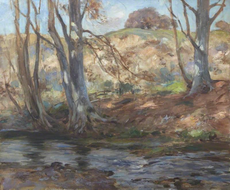 Riverscape, Autumn