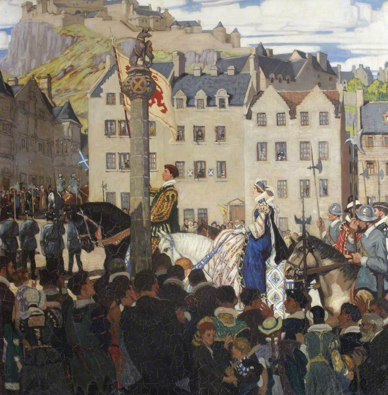Mary, Queen of Scots Arriving in Stirling