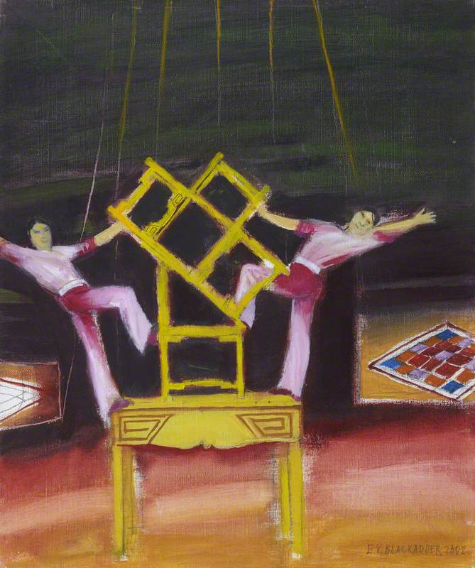 Chinese Circus Acrobats II