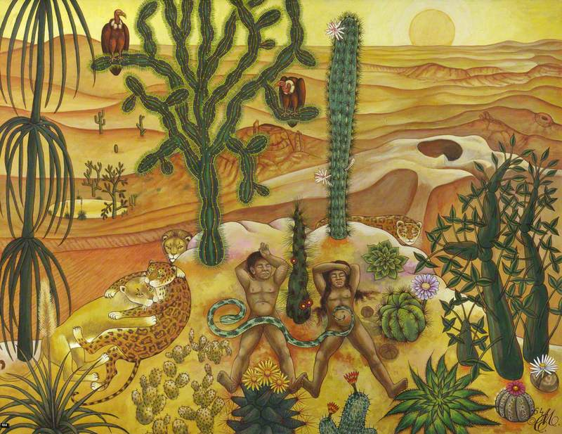 Desert Idyll (Homage to Arthur Jeffress)
