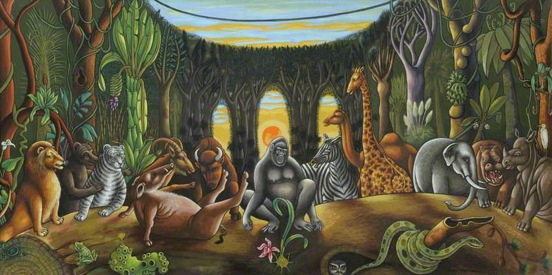 Jungle Symposium (Homage to Charles Darwin)