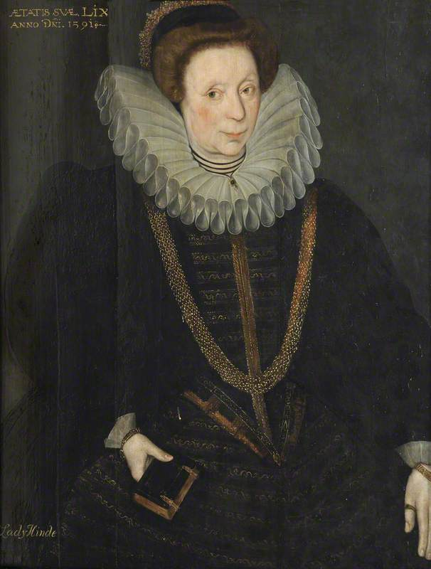 Lady Jane Hynde, née Verney