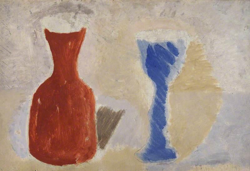 1925 (jar and goblet)