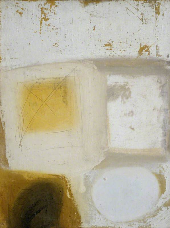 Composition (Brown, Yellow, White)