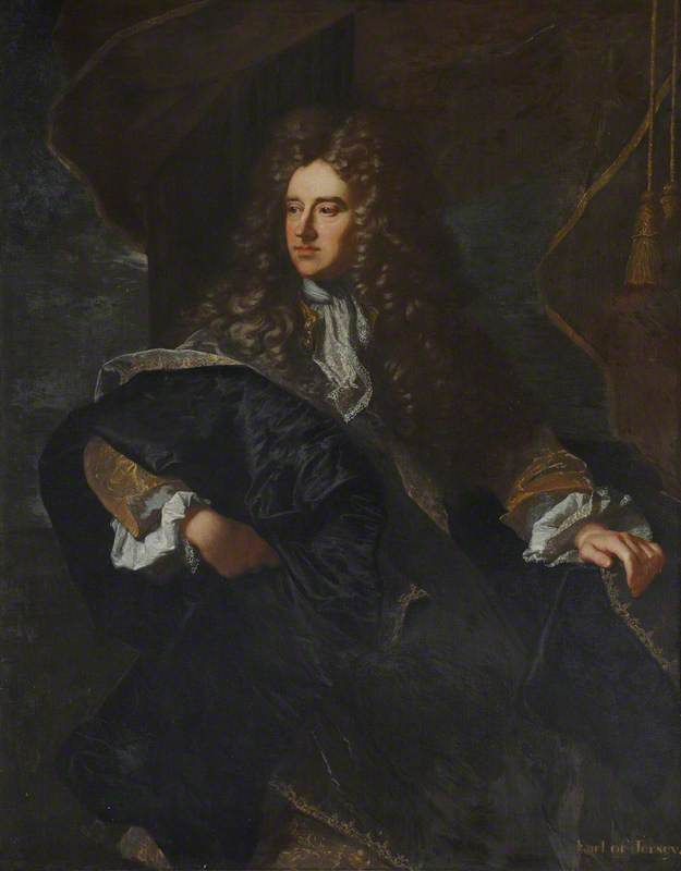 Edward Villiers (1655–1711), Earl of Jersey, Knight Marshal of the Royal Household and Diplomat
