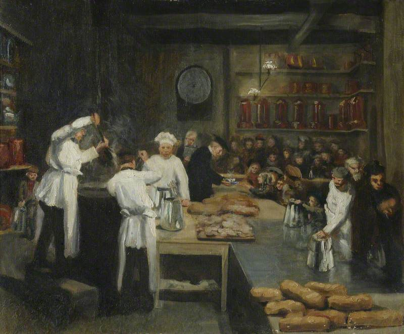 Bread and Soup, St John's College