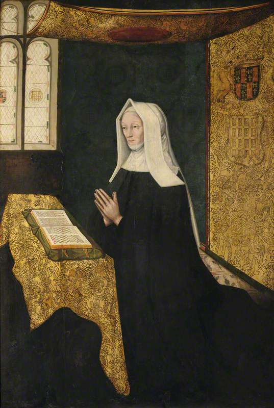 Lady Margaret Beaufort (1443–1509), Countess of Richmond and Derby, Mother of King Henry VII and Foundress of the College