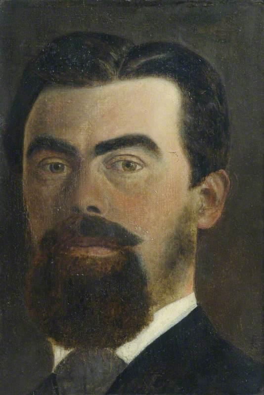Samuel Butler (1835–1902), Writer, Artist, Composer and Photographer (Self Portrait)