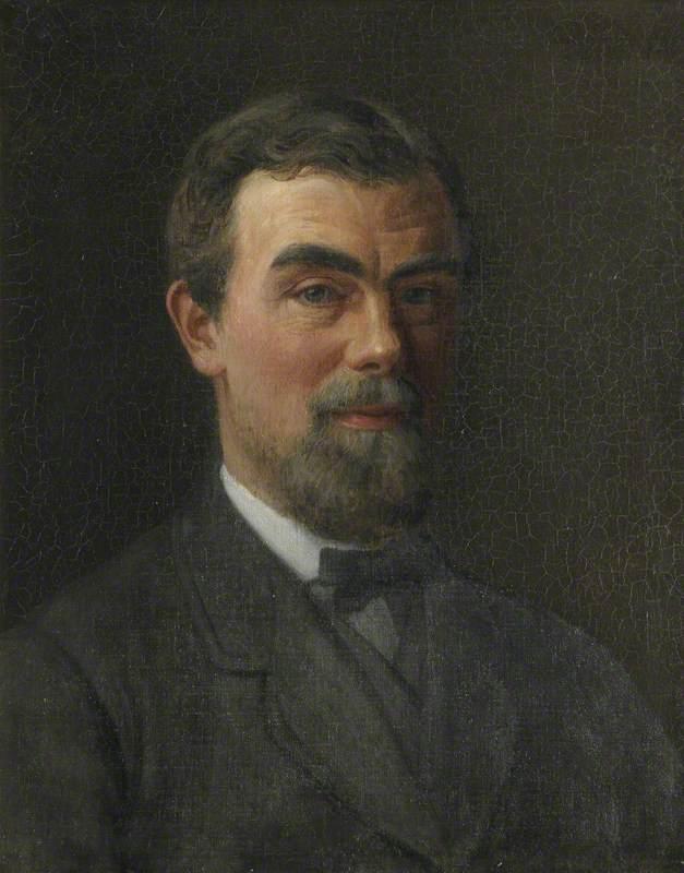 Samuel Butler (1835–1902), St John's College (Classical Tripos, 1858), Writer, Artist, Composer, Photographer (Self Portrait)