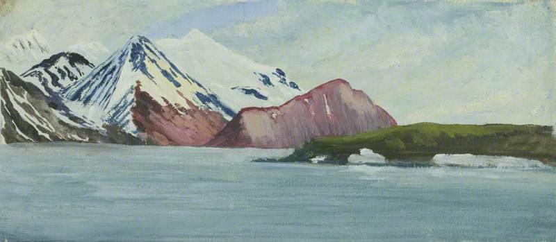 Spitsbergen, Wood Bay, West Shore Porphyrite Exposure