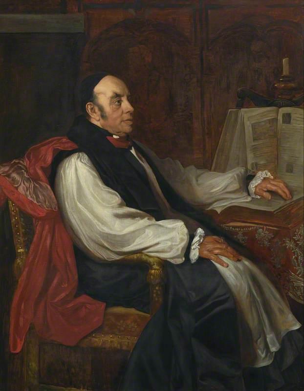 Joseph Barber Lightfoot (1828–1889), STP, Fellow and Biblical Scholar, Bishop of Durham and Hulsean Professor of Divinity (1861–1879)