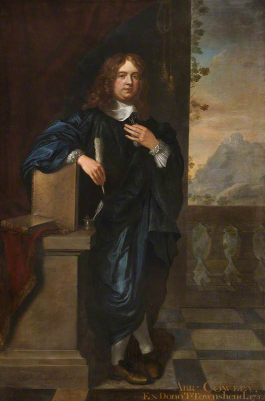 Abraham Cowley (1618–1667), Poet and Fellow