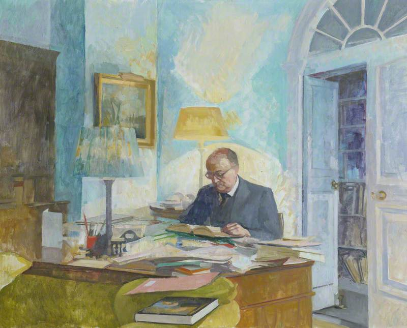 Sir John Harold Plumb (1911–2001), Master (1978–1982), Professor of Modern English History