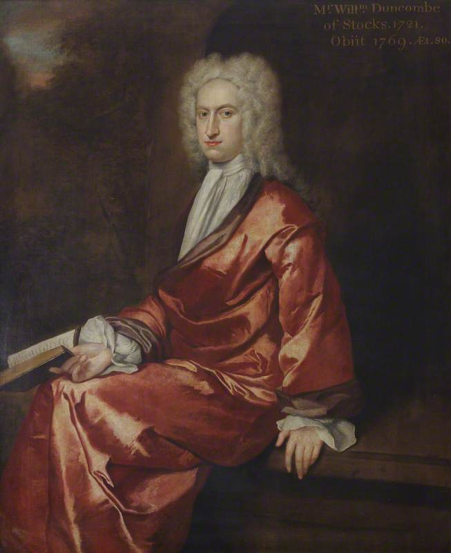 William Duncombe (1690–1769), Translator and Playwright