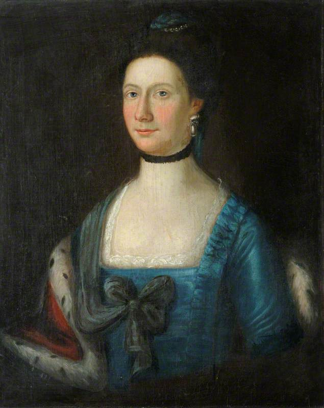 Portrait of a Lady (said to be Anne, wife of John Downing)