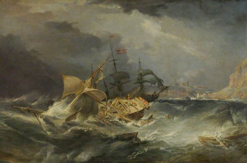 A Shipwreck off the Coast of Whitby