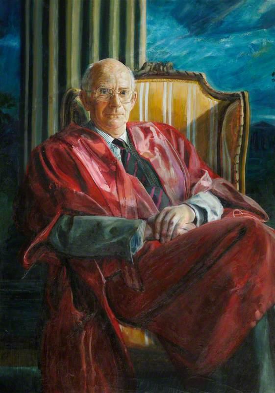 Professor Peter Mathias (b.1928), Master of Downing College (1987–1995)