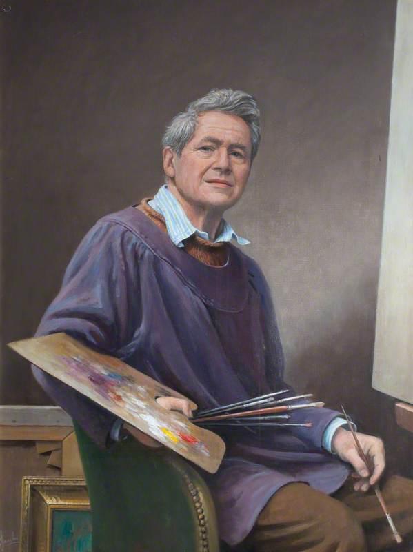 Carlos Luis Sancha, Portrait Painter (Self Portrait)
