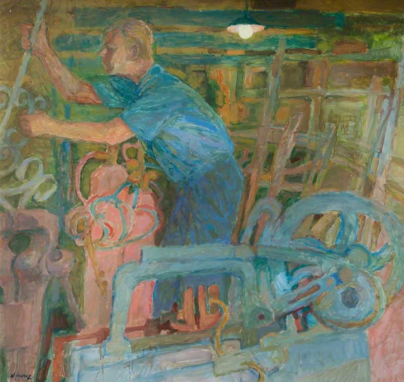 Jack Cadman, Blacksmith