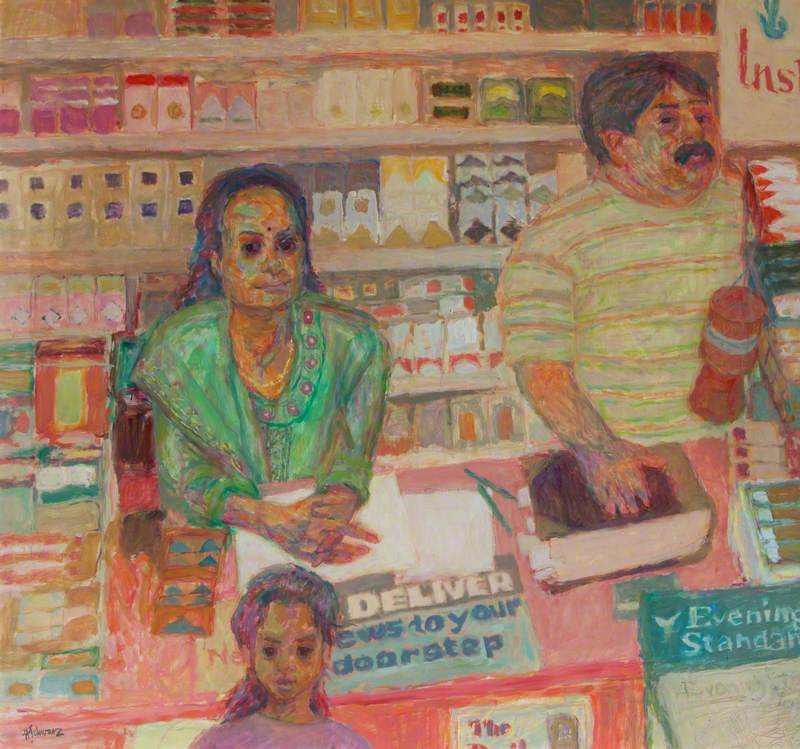 Rajesh Patel, Shop Owner