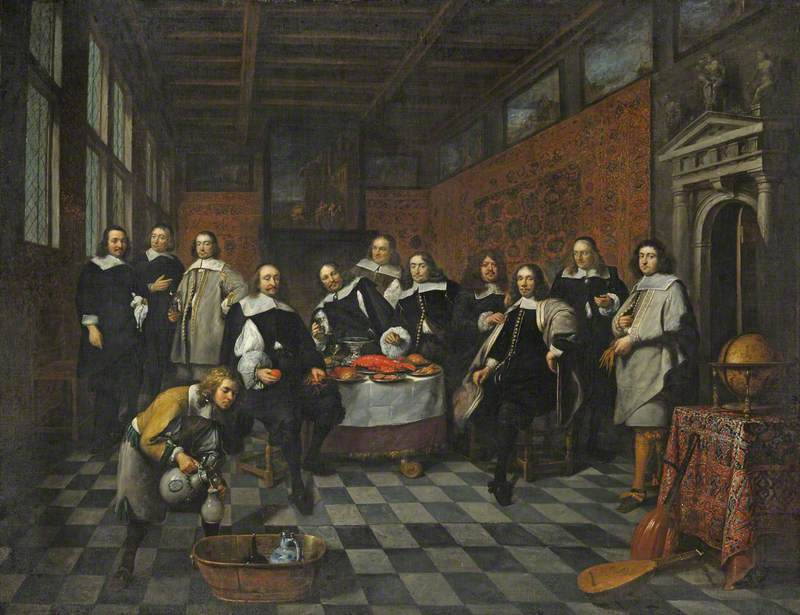 A Group of Flemish Gentlemen (known as The Guild of Saint Luke, Antwerp)